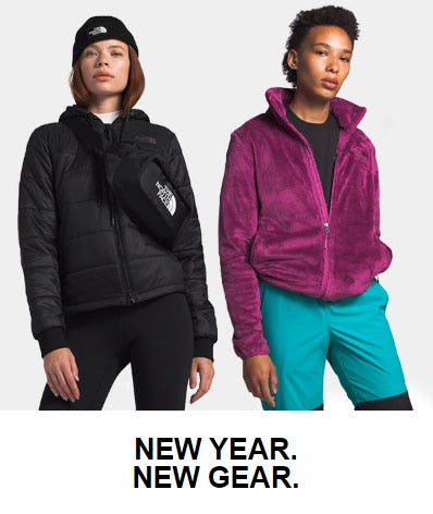 New Year, New Gear from The North Face