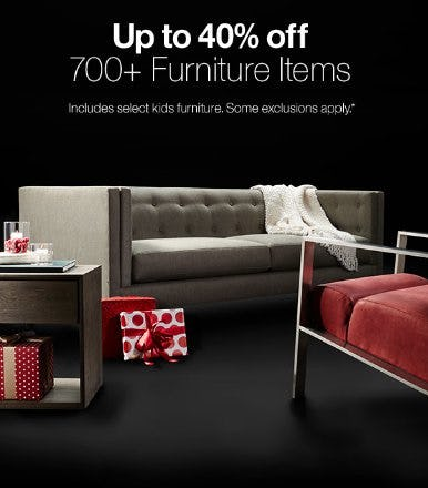 Up to 40% Off 700+ Furniture Items from Crate & Barrel