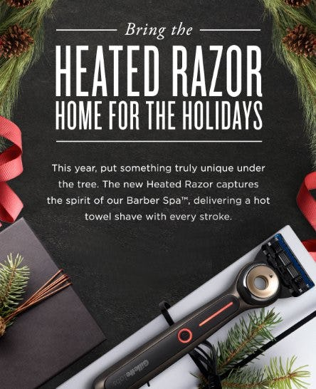 Heated Razor: The Ultimate Gift from The Art of Shaving