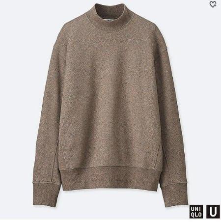Women U Long-Sleeve Pullover Sweatshirt from Uniqlo