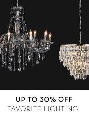Up to 30% Off Favorite Lighting from Z Gallerie