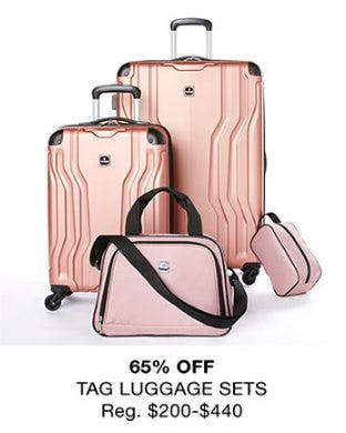 65% Off Tag Luggage Sets
