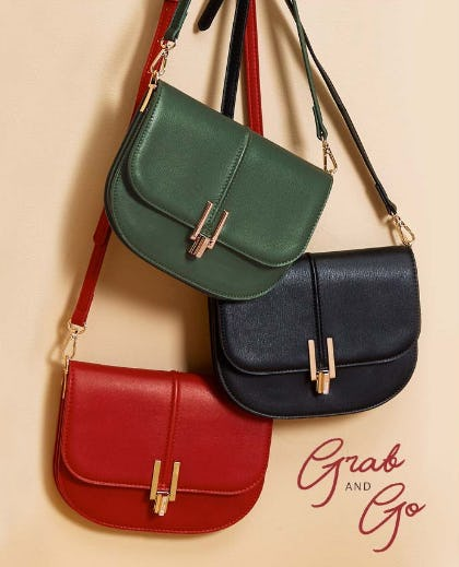Grab & Go Handbags