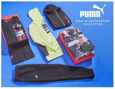 The Puma BMW M Motorsport Collection from EbLens Clothing and Footwear