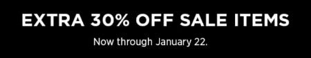 Extra 30% Off Sale from Eileen Fisher