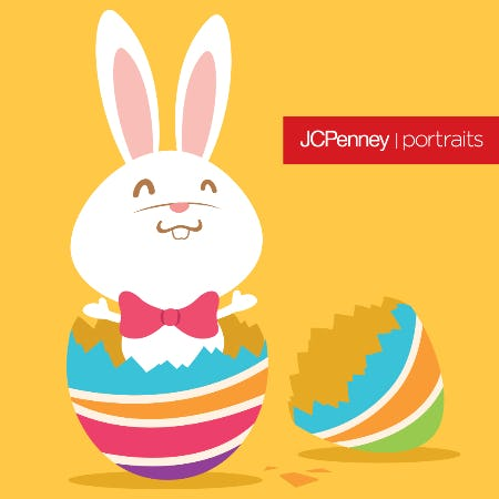 Bunny Photography Event from JCPenney Portraits