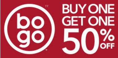 Buy One, Get One 50% Off from Payless ShoeSource