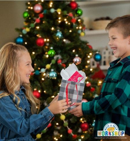 Merry Gifting! Shop Gifts with Heart at Build-A-Bear Workshop® from Build-A-Bear Workshop