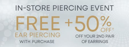 In-Store Piercing Event from Piercing Pagoda