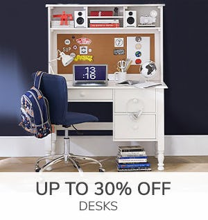 Up to 30% Off Desks from Pottery Barn Kids