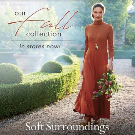 Shop the Soft Surroundings Fall Collection! In Stores Now! #LiveSoft from Soft Surroundings