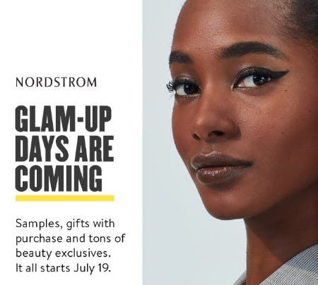 Glam Out Days Are Coming from Nordstrom