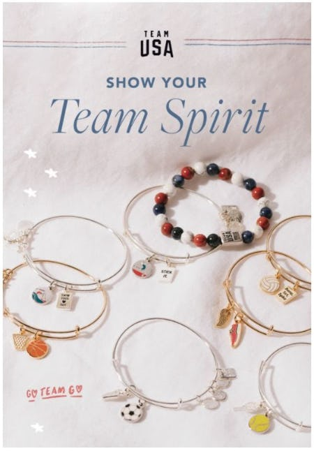 Team USA from ALEX AND ANI