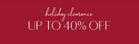 Up to 40% Off Holiday Clearance from Z Gallerie