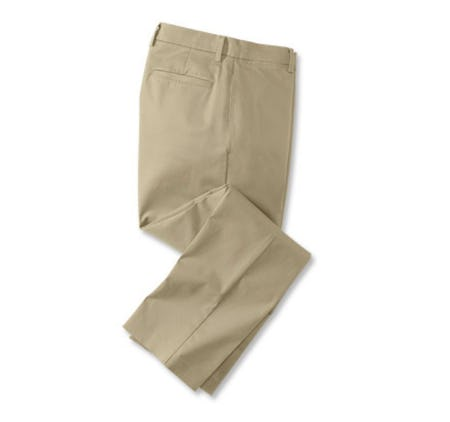 Wrinkle-Free Stretch Chinos from Orvis