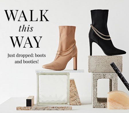 Just Dropped: Boots and Booties