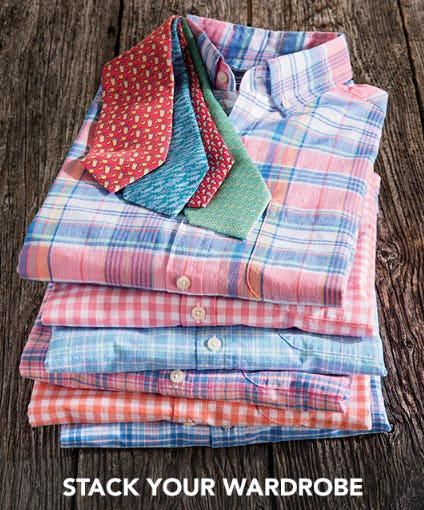 Shop Our Great Shirts & Ties from vineyard vines