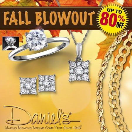 Daniel's Jewelers Fall Blowout