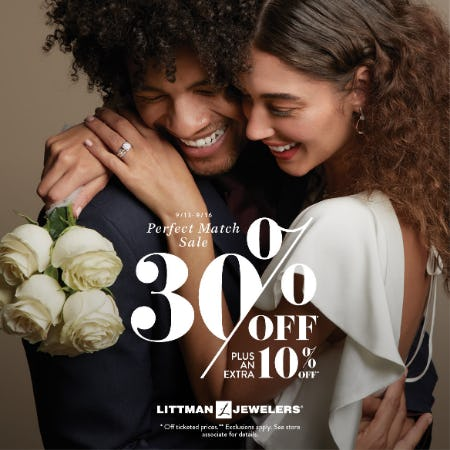 Perfect Match Sale from Littman Jewelers
