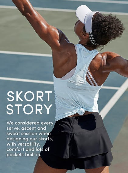 Skort Story from Athleta