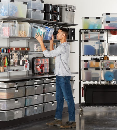 Transform Your Garage at The Container Store