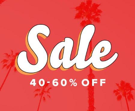 40-60% Off Sale