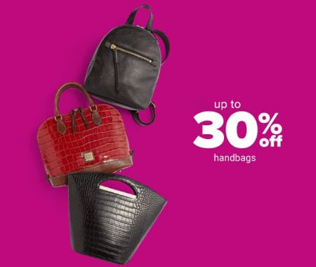 Up to 30% Off Handbags from Belk Store