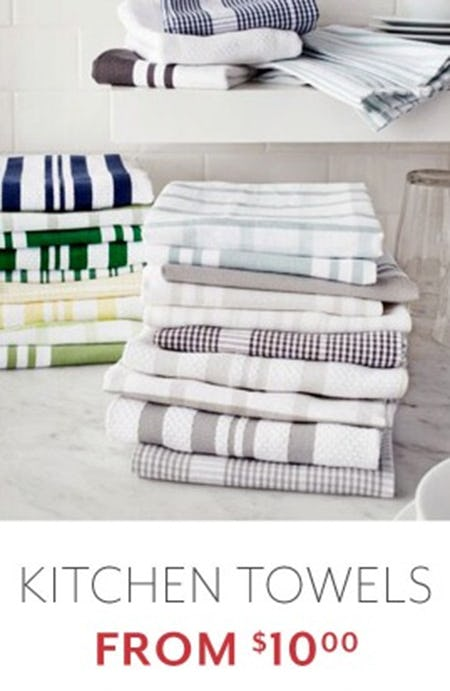 Kitchen Towels from $10.00