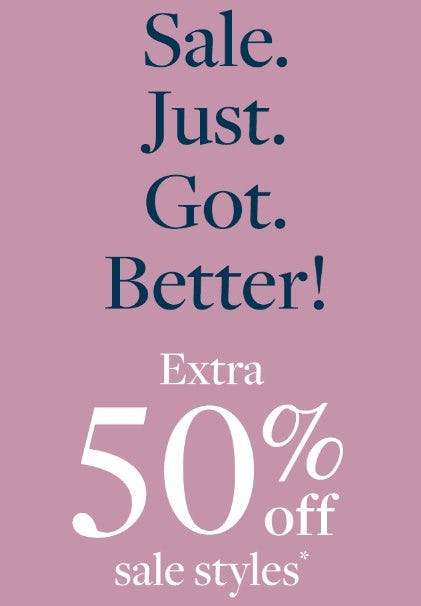 Extra 50% Off Sale Styles from J.Crew