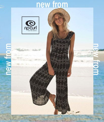 New From Rip Curl