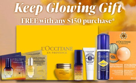 Keep Glowing Gift Free With Any $150 Purchase