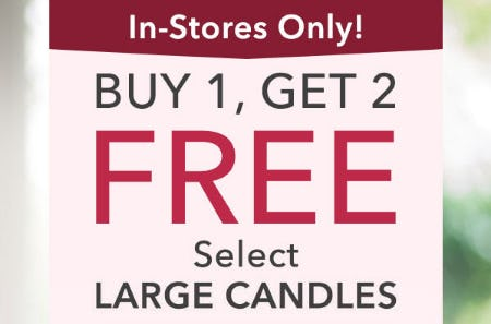 B1G2 Free Select Large Candles