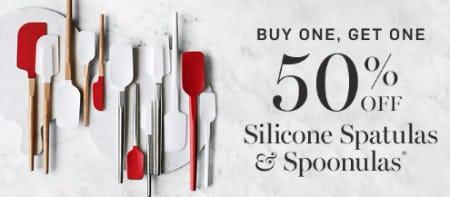 Buy One, Get One 50% Off Silicone Spatulas & Spoonulas