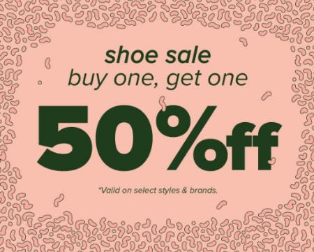 Shoe Sale: Buy One, Get One 50% Off from Zumiez