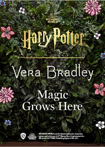 Magic Grows Here from Vera Bradley