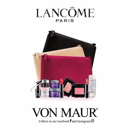 Lancôme Holiday Gift With Purchase from Von Maur