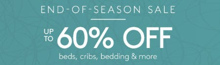 End-of-Season Sale: Up to 60% Off from Pottery Barn Kids