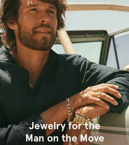 Sleek Styles for Men on the Go from Kay Jewelers