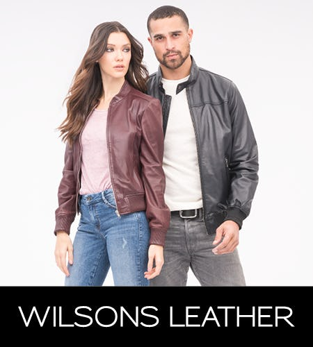 Clearance Liquidation! 50% Off Select Styles from Wilsons Leather