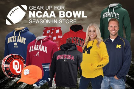 NCAA Bowl Season Gear