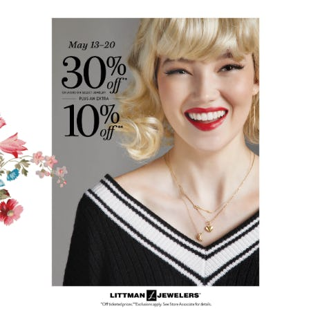 Treat Yourself Sale from Littman Jewelers