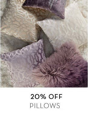20% Off Pillows from Z Gallerie