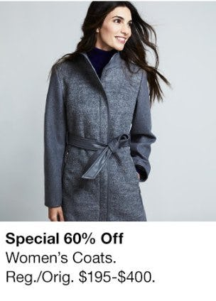 60% Off Women's Coats