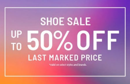 Shoe Sale: Up to 50% Off Last Marked Price from Zumiez