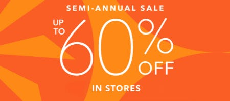 Up to 60% Off Semi-Annual Sale from Athleta