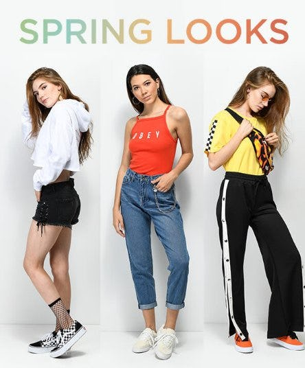 Shop Ladies New Arrivals from Zumiez