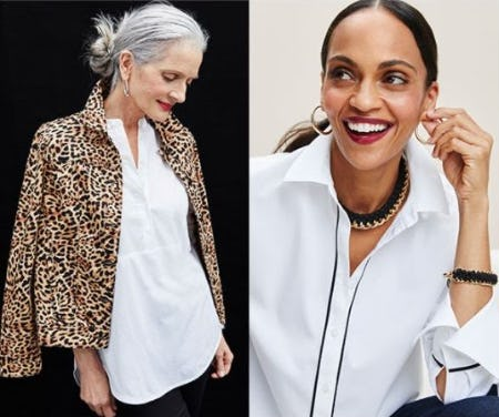 Your Best Shirt Story: Button-Downs to Suit Every Style from Chico's