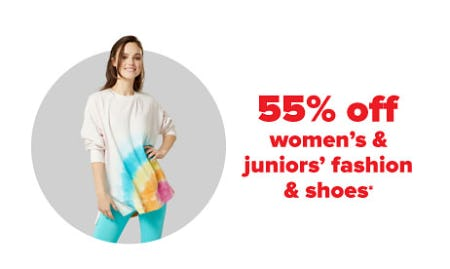 55% Off Women's & Juniors' Fashion & Shoes from Belk