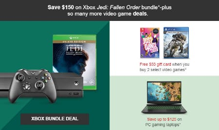 Save $150 on Xbox Jedi: Fallen Order Bundle from Target