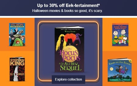 Up to 30% Off Eek-Tertainment from Target